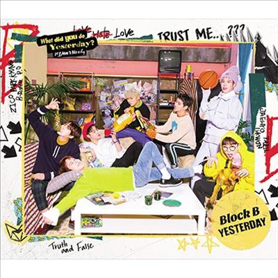 블락비 (Block.B) - Yesterday (CD+Photobook) (초회한정반 B)