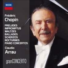 아라우가 연주하는 쇼팽: 피아노 작품집 (Claudio Arrau - Chopin: Piano Works) (7CD Boxset) - Claudio Arrau