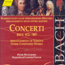 바흐 : 하프시코드 독주를 위한 협주곡 (J.S. Bach : Concerto For Harpsichord Solo BWV972-987) (2CD) - Peter Watchorn
