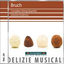 :   1, 2 (Bruch: String Quartet No.1 &amp; 2) - Quartetto Academica