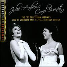 Julie Andrews/Carol Burnett - CBS Television Specials: Live at Carnegie Hall/ Live at Lincoln Center (2CD)