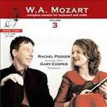 모차르트 : 바이올린 소나타 3집 (Mozart : Violin Sonatas Vol.3 - K.454, K.28, K.402, K.404, K.8, K.380) (SACD Hybrid) - Rachel Podger
