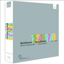 베토벤: 교향곡 전집 (Beethoven: Complete Symphonies Nos.1 - 9) (4Blu-ray) (2013)(Blu-ray) - Claudio Abbado