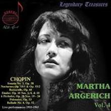 아르헤리치 - 쇼팽: 피아노 작품집 (Martha Argerich - Chopin: Piano Works) - Martha Argerich