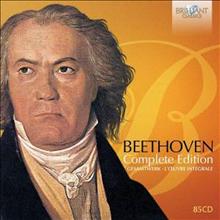 베토벤 전집 (Complete Beethoven - Brilliant Edition) (85CD Boxset) - 여러 아티스트