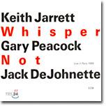 Keith Jarrett & Gary Peacock & Jack Dejohnette - Whisper Not