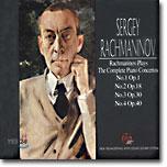 라흐마니노프가 연주하는 그의 협주곡 (Rachmaninov Plays Rachmaninov The Complete Piano Concertos)