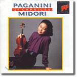 Paganini : 24 Caprices For Solo Violin Op.1 : Midori