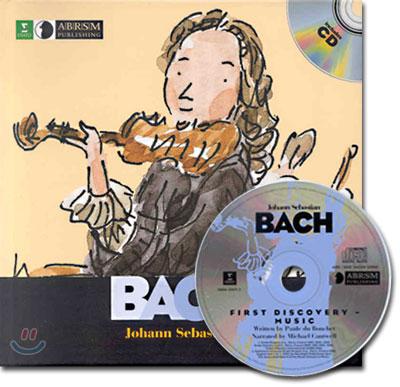 (first discovery music) Johann Sebastian (CD + book)