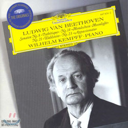 Wilhelm Kempff 베토벤: 피아노 소나타 8번 `비창` 14번 `월광` 21번 `발트슈타인` 23번 `열정` (Beethoven: Piano Sonatas)