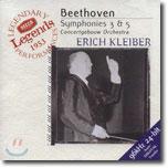 Beethoven : Symphony No.3 & 5 : Concertgebouw OrchestraㆍErich Kleiber