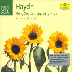 Amadeus Quartet 하이든 : 현악 사중주 (Haydn : String Quartets Opp.76ㆍ77ㆍ103)