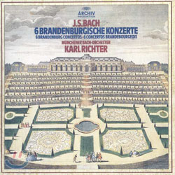 Karl Richter 바흐 : 브란덴부르크 협주곡 (Bach : 6 Brandenburg Concerto) 칼 리히터