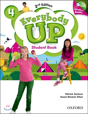 Everybody Up 4 : Student Book with CD, 2/E