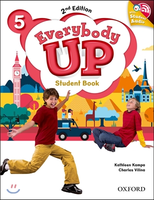 Everybody Up 5 : Student Book with CD, 2/E