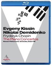 Evgeny Kissin 쇼팽: 피아노 협주곡 1, 2번 - 에프게니 키신 [블루레이]