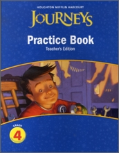 Journeys Practice Book Teacher's Edition Grade 4