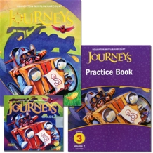 Journeys Grade 3.2 Set : Student Edition + Practice Book + Audiotext CD