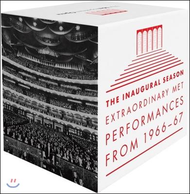뉴욕 메트로폴리탄 오페라 50주년 기념 하이라이트 박스세트 (The Inaugural Season - Extraordinary MET Performances 1966-1967)