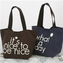 ���̽�������Ʈ�� : nice day tote bag