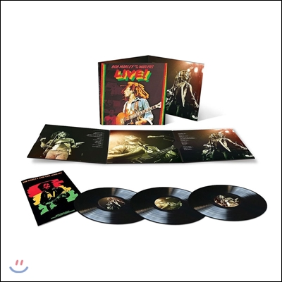 Bob Marley & The Wailers (밥 말리 앤 더 웨일러스) - Live! (1975년 런던 라이시엄 라이브) [Limited Deluxe Edition 3LP]