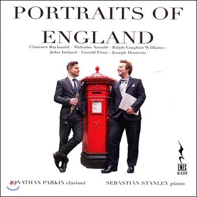 Jonathan Parkin / Sebastian Stanley 잉글랜드 포트레이트 - 영국의 클라리넷 음악: 말콤 아놀드 / 본 윌리암스 / 존 아일랜드 (Portraits Of England - Malcolm Arnold, Vaughan Williams, Ireland)