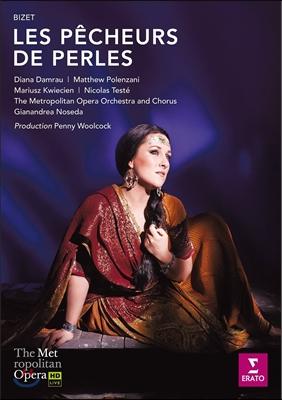 Diana Damrau / Gianandrea Noseda 비제: 진주조개잡이 (Bizet: Les Pecheurs de Perles) 디아나 담라우, 지안안드레아 노세다, 메트로폴리탄 오페라 오케스트라