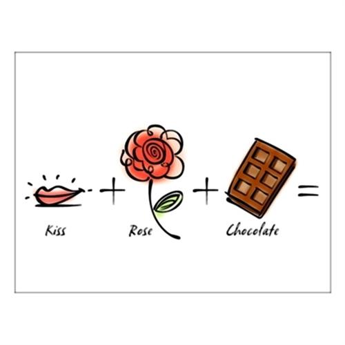 홀마크 러브 카드(Kiss Rose)-KED1515