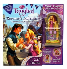 Disney Tangled : Rapunzel Adventure Storybook with Music Player