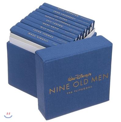 Walt Disney's Nine Old Men : The Flipbooks : 월트 디즈니 애니메이션 스튜디오 아카이브 시리즈 (1세대 원로 작가 원화집/아트북)