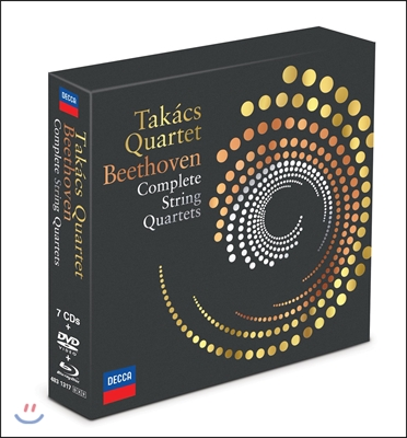 Takacs Quartet 베토벤: 현악 사중주 전곡 (Beethoven: Complete String Quartets) 타카치 콰르텟