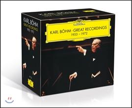 칼 뵘의 위대한 녹음 2집: 1953-1972 (Karl Bohm - Great Recordings) [17CD 박스세트]