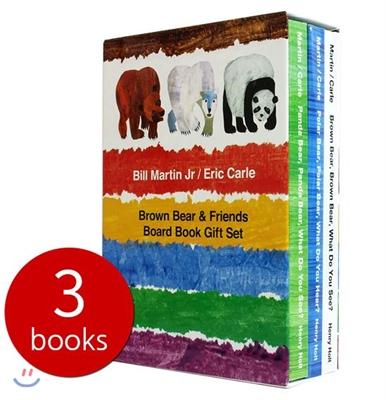 Brown Bear & Friends Board Book Gift Set