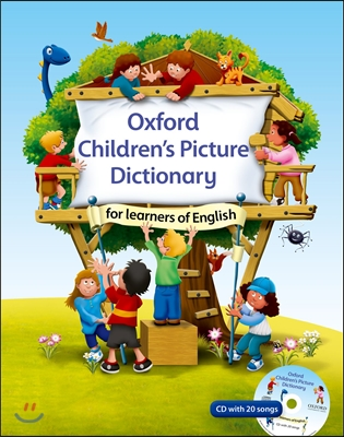 Oxford Children's Picture Dictionary For Learners Of English (CD 미포함, 음원 다운로드)