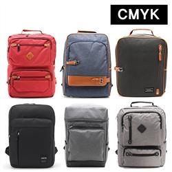 CMYK 남여공용 학생 캐쥬얼 가방 백팩 13종택1