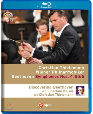 Christian Thielemann 베토벤: 교향곡 4번 5번 6번 (Beethoven Complete Symphonies Vol.2) 블루레이