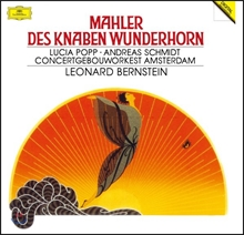 Leonard Bernstein 말러: 가곡 '어린이의 이상한 뿔피리' (Mahler: Des Knaben Wunderhorn) 로열 콘세르트헤바우 오케스트라, 레너드 번스타인 [LP]