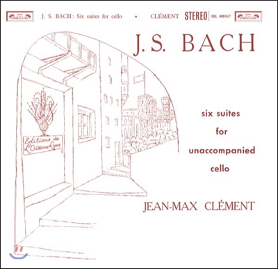 Jean-Max Clement 바흐: 무반주 첼로 모음곡 전곡집 (J.S. Bach: 6 Cello Suites For Unaccompanied Cello) 장-막스 클레망 [180g 2 LP]