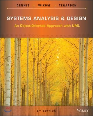Systems Analysis and Design, 5/E