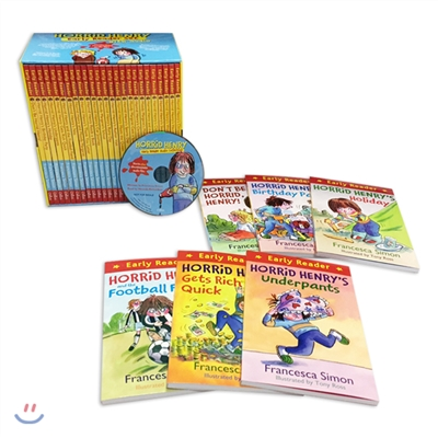 Horrid Henry Early Reader Set (도서 25권+MP3CD 1장)