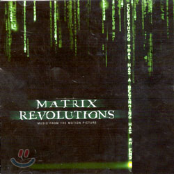 Matrix 3 : Revolutions (매트릭스 3 : 레볼루션) O.S.T