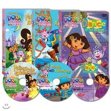 DVD 도라 익스플로러 스페셜 3종 세트 the EXPLORER DVD