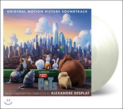 마이펫의 이중생활 애니메이션 음악 (The Secret Life Of Pets OST - Music by Alexandre Desplat 알렉상드르 데스플라) [화이트 컬러 2LP]