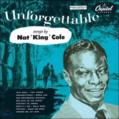 Nat King Cole (냇 킹 콜) - Unforgettable [LP]