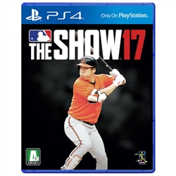 PS4 MLB THE SHOW 17 / MLB17 더쇼17