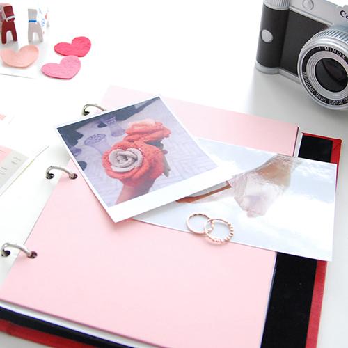 제이로그 커플다이어리(커플포토앨범)-레드 로즈