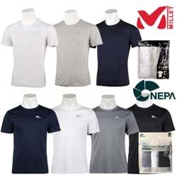 [MILLET]밀레 (3가지의류가한팩) 남성 데일리 티셔츠_MVMUT402