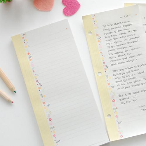 제이로그 투유 편지지 100매