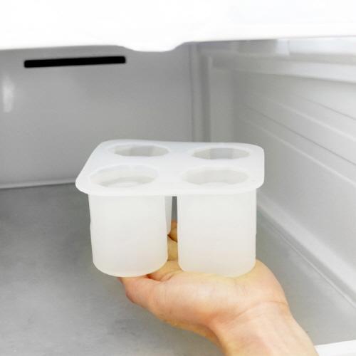 아파트32(APT32) 얼음 소주잔 몰드 4구/ 아이스 실리콘 얼음틀