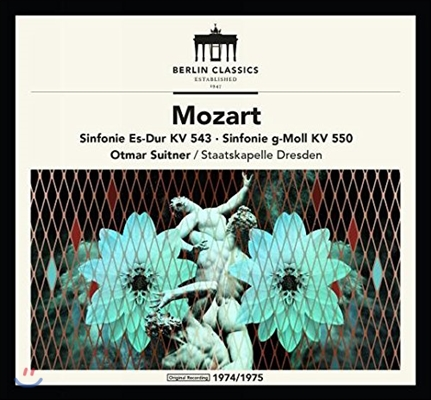 Otmar Suitner 모차르트: 교향곡 39번, 40번 (Mozart: Symphonies KV543 & KV550) 오트마르 주이트너, 슈타츠카펠레 드레스덴